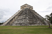 Mayans Prints - Chichen Itza Print by Dick Willis