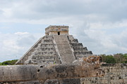 Mayans Prints - Chichen Itza Print by Robert  Moss