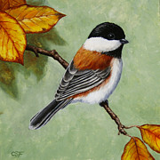 Crista Forest - Chickadee - Autumn Charm