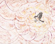 Chickadee Drawings Prints - Chickadee dee dee Print by Sara Bell