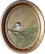 Kathleen McDermott - Chickadee Set 17 Bird 1