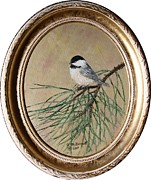 Kathleen McDermott - Chickadee Set 17 Bird 2