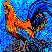 Chicken-5 Print by Anand Swaroop Manchiraju