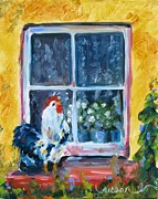Susan Jones - Chicken at my Window