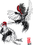 Willhemus Ardylles  - Chicken Fight-Abstract