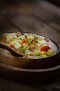 Hearty Prints - Chicken stew Print by Nikolina Petolas