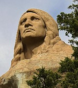 Oregon Illinois Photos - Chief Blackhawk by Bruce Bley