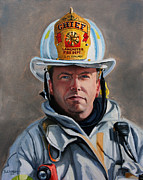 Lancaster Paintings - Chief Kuhlmey by Paul Walsh
