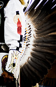 Indian Feather Framed Prints - Chief Framed Print by Off The Beaten Path Photography - Andrew Alexander