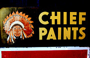 Karyn Robinson - Chief Paints Sign