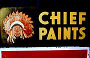 Karyn Robinson - Chief Paints Sign