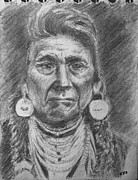 Jewelry Drawings Originals - Chief by Rick Fitzsimons