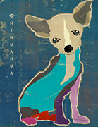 Collage Art Of Dogs Acrylic Prints - Chihuahua Acrylic Print by Brian Buckley
