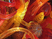 Glass Art Posters - Chihuly Glass Art Poster by Diane  Greco-Lesser