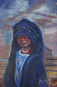 Child Bride Of The Sahara Print by Avonelle Kelsey