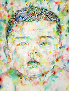 Chinese Newborn Prints - Child Portrait Print by Fabrizio Cassetta