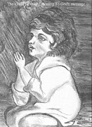 Christianity Drawings - Child Samuel  by Patricia Wilhelm