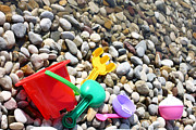 Borislav Marinic - Child toys on the beach