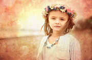 Little Girl Photos - Childhood Dreams by Cindy Singleton