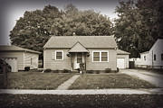 Childhood Home Print by Bob and Nancy Kendrick