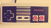 Vintage Nintendo Game Prints - Childhood Memories Print by Lynsie Petig