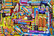 Multicolored Tapestries Textiles - Childhood Memories by Tim Gainey