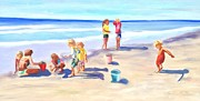 Joanne Killian - Children at the Beach