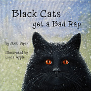 Linda Apple - Childrens Book  BLACK...