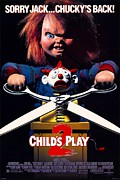 Movie Poster Gallery Prints - Childs Play 2  Print by Movie Poster Prints
