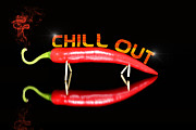 Ripe Originals - Chilli pepper and text chill out by Tommy Hammarsten