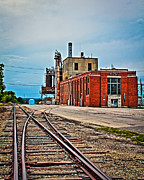 Out Of Service Posters - Chillicothe Municipal Utilites Retired Power Plant 3 Poster by Rick Grisolano Photography LLC