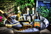 Winery Photography Posters - Chillin Whites Poster by Bob Hislop