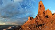 Chimney Bluffs 2 Print by Mark Papke
