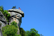 Chimney Rock North Carolina Posters - Chimney Rock Poster by Blaine Owens