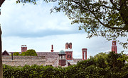 Chimneys Print by John Bailey