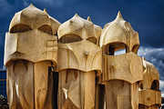 Union Terrace Art - Chimneys of La Pedrera by George Oze