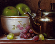 Timothy Jones - China Bowl and Teapot