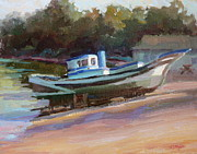 Carol Smith Myer - China Camp Boat