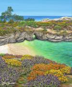 China Cove Prints - China Cove Paradise Print by Jane Girardot