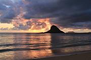 Chinaman's Hat Mokolii Island Oahu Hawaii Print by Leslie Kirk