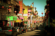 Wingsdomain Art and Photography - Chinatown Gate on Grant Avenue in San Francisco 7D7175brun