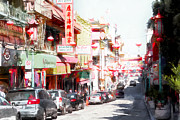 Wingsdomain Art and Photography - Chinatown Gate on Grant Avenue in San Francisco 7D7175wcstyle