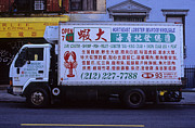 Fishmongers Posters - Chinatown Lobster Delivery Poster by Jannis Werner