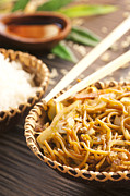 Stir Photo Prints - Chinese food Print by Mythja  Photography