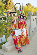 Perform Art - Chinese Opera Children - In full traditional Chinese Opera costumes. by Jamie Pham