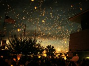 Michelle Calkins - Chinese Sky Lanterns