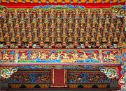 Yali Shi - Chinese Temple Ceiling...