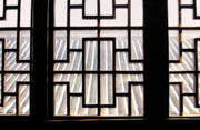 Frame House Photos - Chinese Window Abstract by Charline Xia
