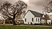 Chino Old School House - 02 Print by Gregory Dyer
