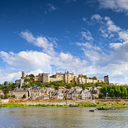 Loire Valley Posters - Chinon Loire Valley France Poster by Colin and Linda McKie